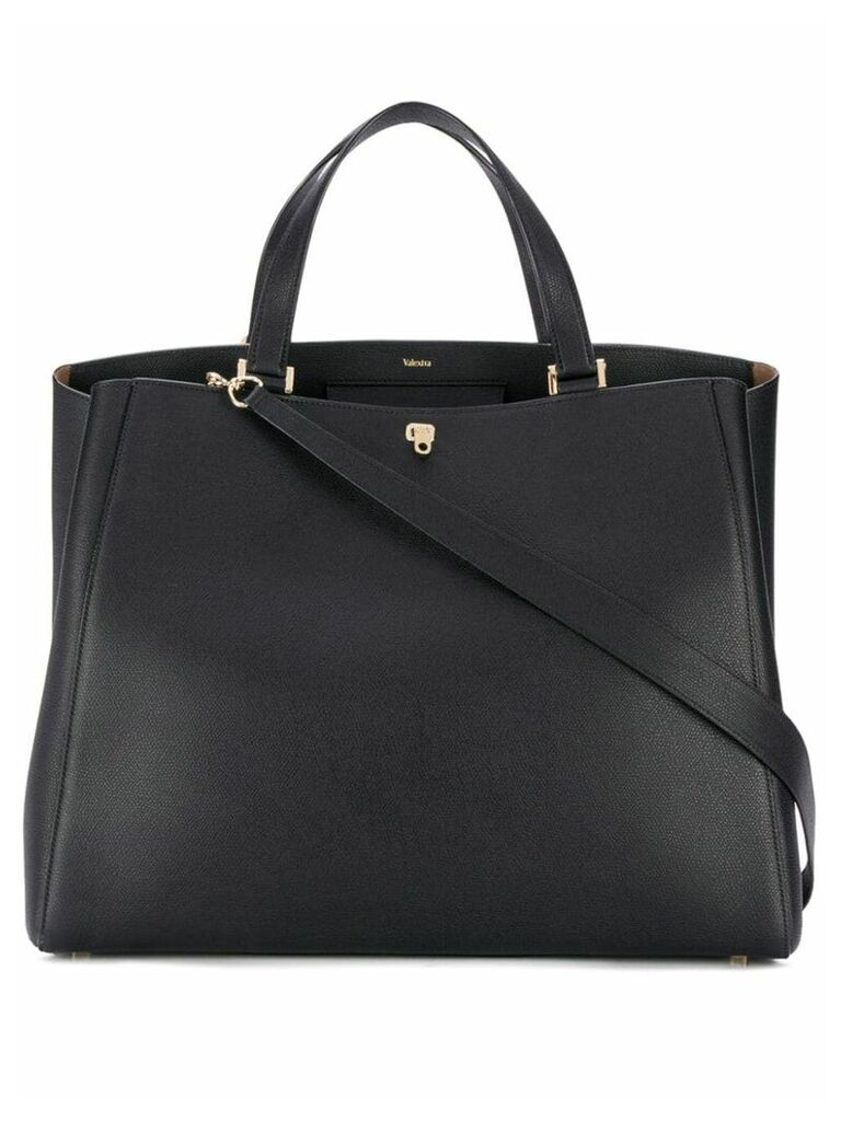 Valextra Brera tote bag - Black