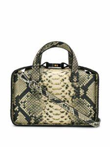 1017 ALYX 9SM aligator leather shoulder bag - Neutrals