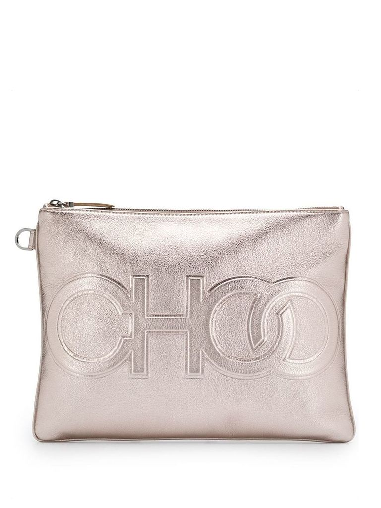 Jimmy Choo Bette clutch bag - Gold
