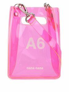 Nana-Nana mini A6 tote bag - Pink