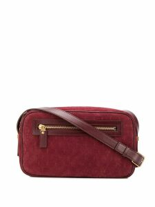Saint Laurent Monogram camera crossbody bag - Red