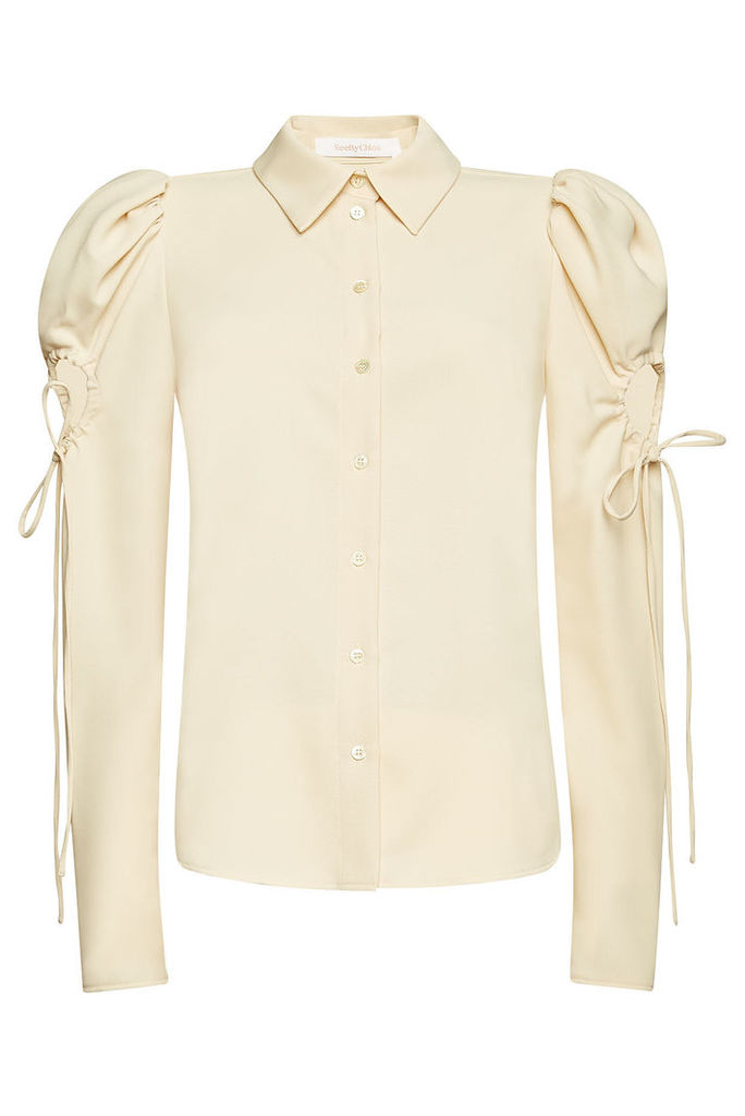 See by Chlo © Blouse with Cut-Out Detail