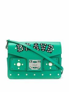 Salar embellished satchel - Green