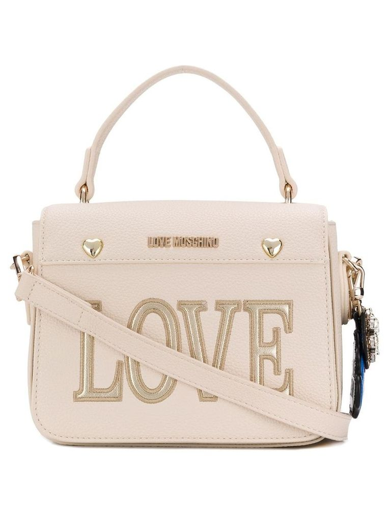 Love Moschino Love shoulder bag - White