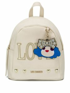 Love Moschino blush pink Love backpack - Neutrals