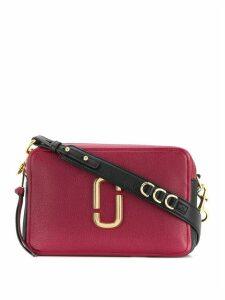 Marc Jacobs logo appliqué camera bag - Red