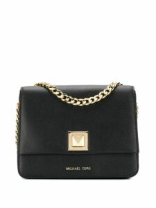 Michael Michael Kors black and gold tote bag