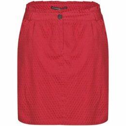 Mado Et Les Autres  Fantasy jacquard stretch skirt  women's Skirt in Red