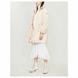 Moncler Genius x Simone Rocha ruffled shell hooded coat