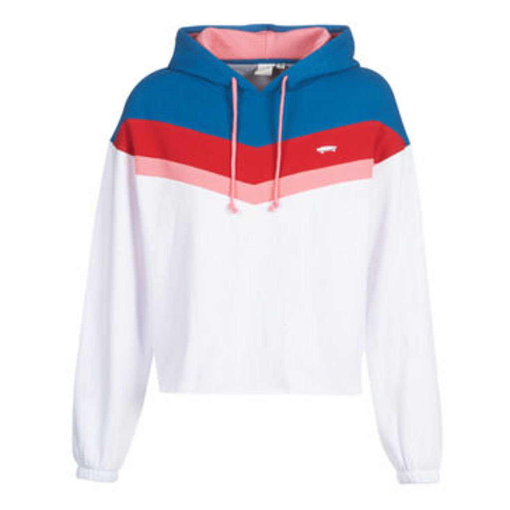 Vans  INVERCE HOODIE  women's Sweatshirt in White