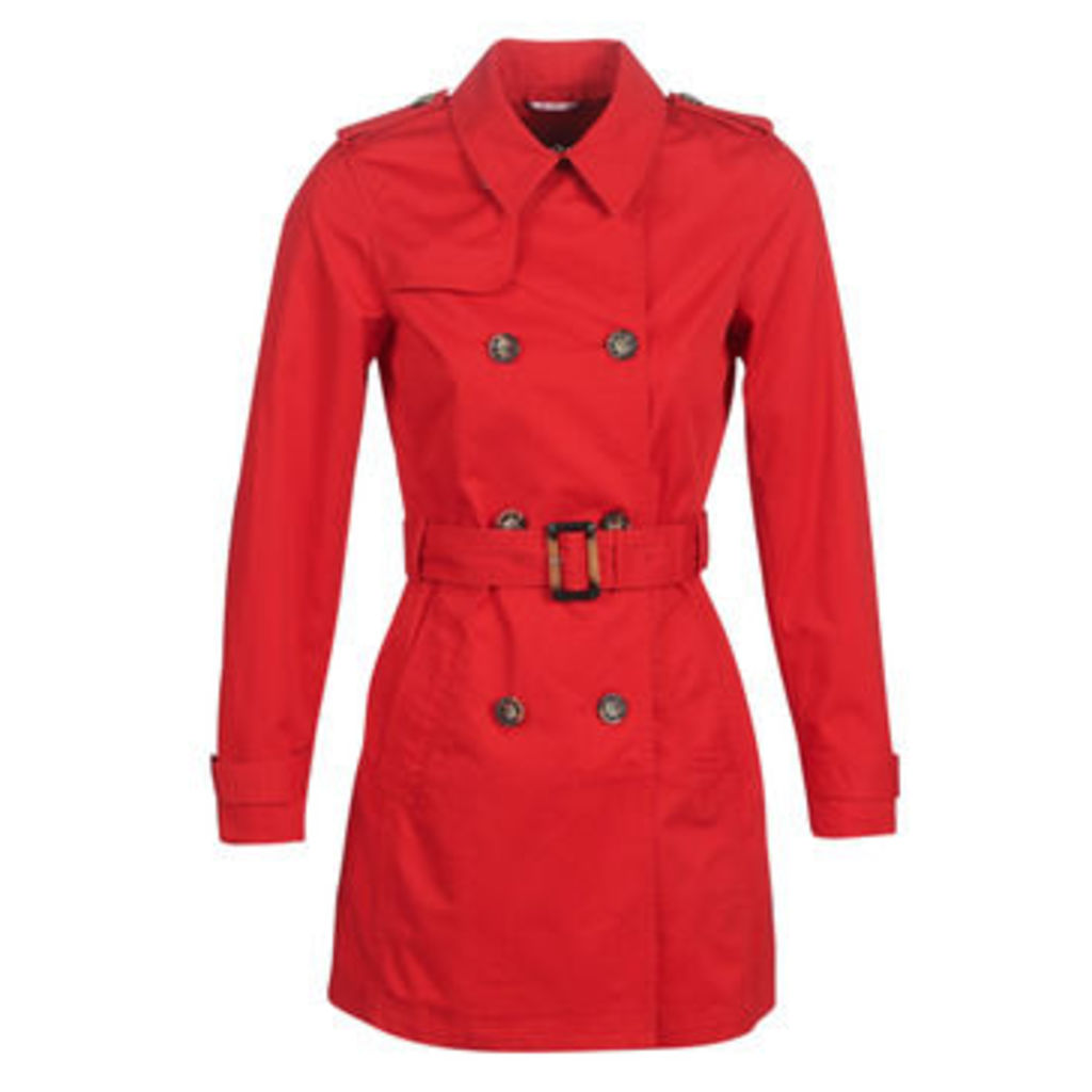 S.Oliver  04-899-61-5060-90G18  women's Trench Coat in Red