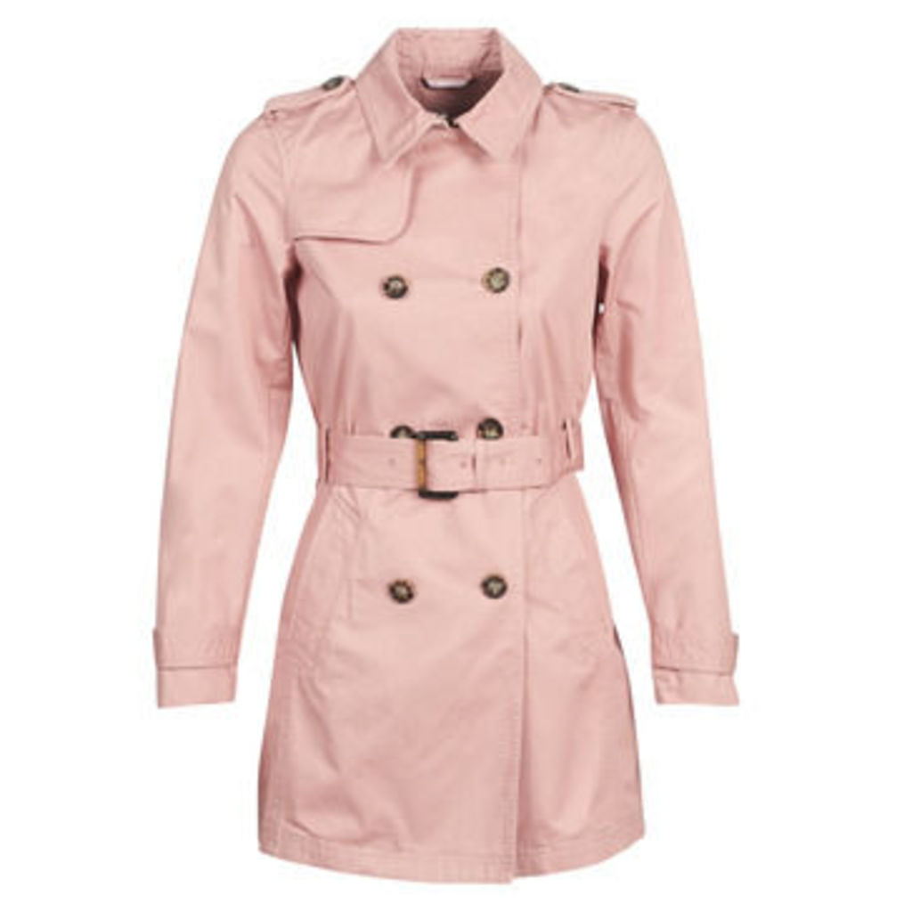 S.Oliver  04-899-61-5060-90G19  women's Trench Coat in Pink