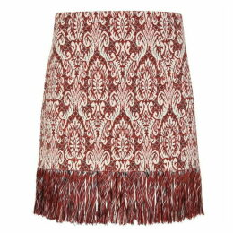 Chloe Fringed Mini Skirt