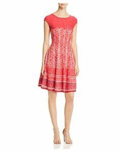Nic+Zoe Garden Party Printed Sweater Dress