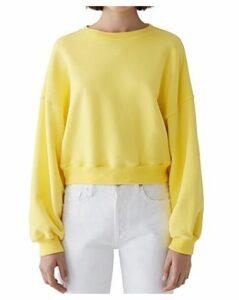 Agolde Crop Sweatshirt