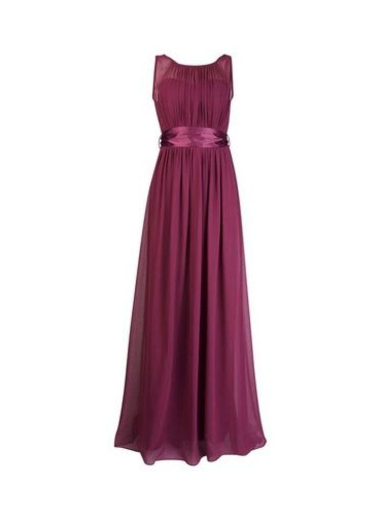 Womens **Showcase Purple 'Natalie' Maxi Dress- Purple, Purple