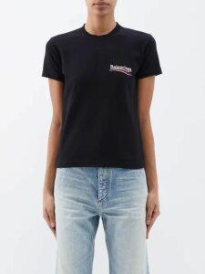 Lisa Marie Fernandez - Prairie Striped Satin Dress - Womens - Green White