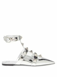 Lisa Marie Fernandez - Striped Tie Front Satin Shirt - Womens - Black White