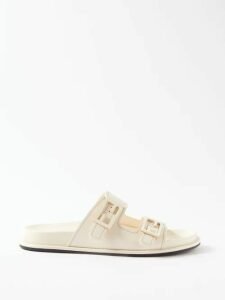 Three Graces London - Almost A Honeymoon Crinkle Cotton Dress - Womens - Yellow
