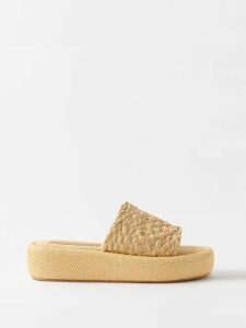Joseph - Perrin Tie Front Cotton Blend Poplin Skirt - Womens - White