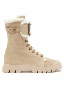Saloni - Nikki Printed Silk Crepe De Chine Maxi Dress - Womens - Green Multi