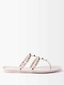 Saloni - Eden Floral Print Silk Midi Dress - Womens - Green Multi