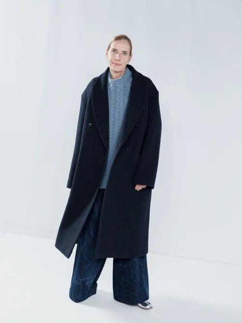 Maria Lucia Hohan - Reem Metallic Jersey Off The Shoulder Maxi Dress - Womens - Silver