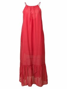 Semicouture maxi dress - Red