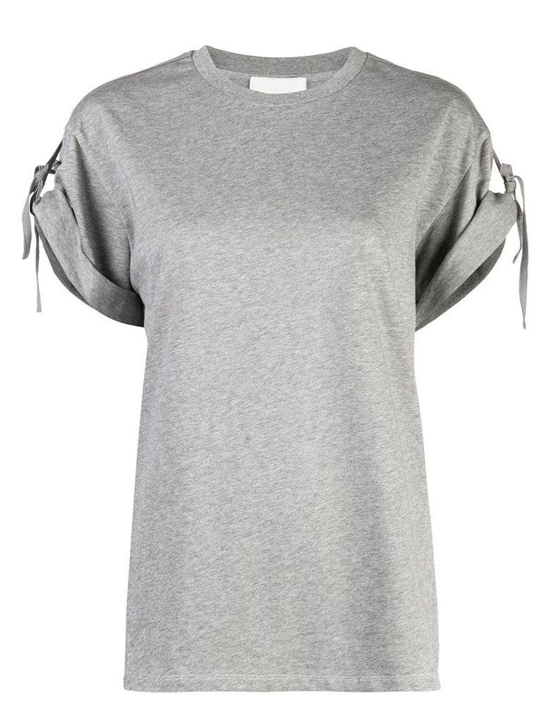 3.1 Phillip Lim tie sleeve T-shirt - Grey