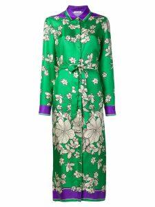 P.A.R.O.S.H. Salato shirt dress - Green