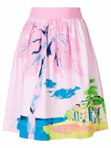 Boutique Moschino Holiday skirt - PINK