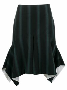Calvin Klein 205W39nyc striped draped asymmetric skirt - Blue