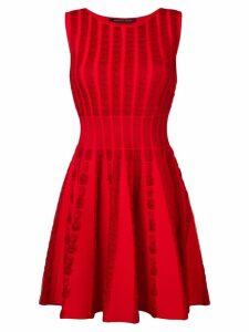 Antonino Valenti sleeveless flared dress