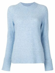 3.1 Phillip Lim long sleeve knitted top - Blue