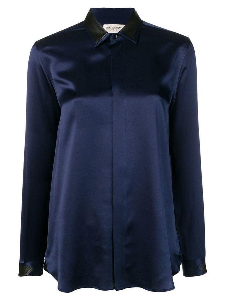 Saint Laurent classic shirt - Blue