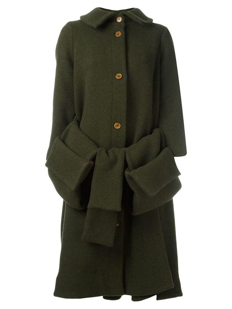 Henrik Vibskov Post pouch pocket coat - Green