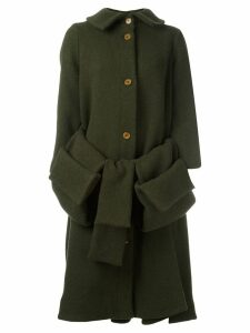 Henrik Vibskov Post pouch pocket coat - Green