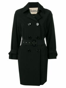 Herno belted trench coat - Black