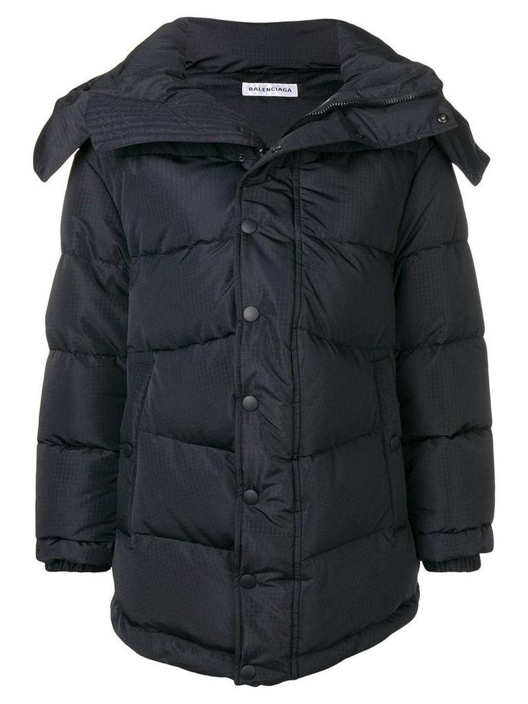 Balenciaga New Swing puffer coat - Black