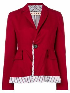 Marni one button blazer - Red