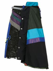 Kolor multi-layered skirt - Black