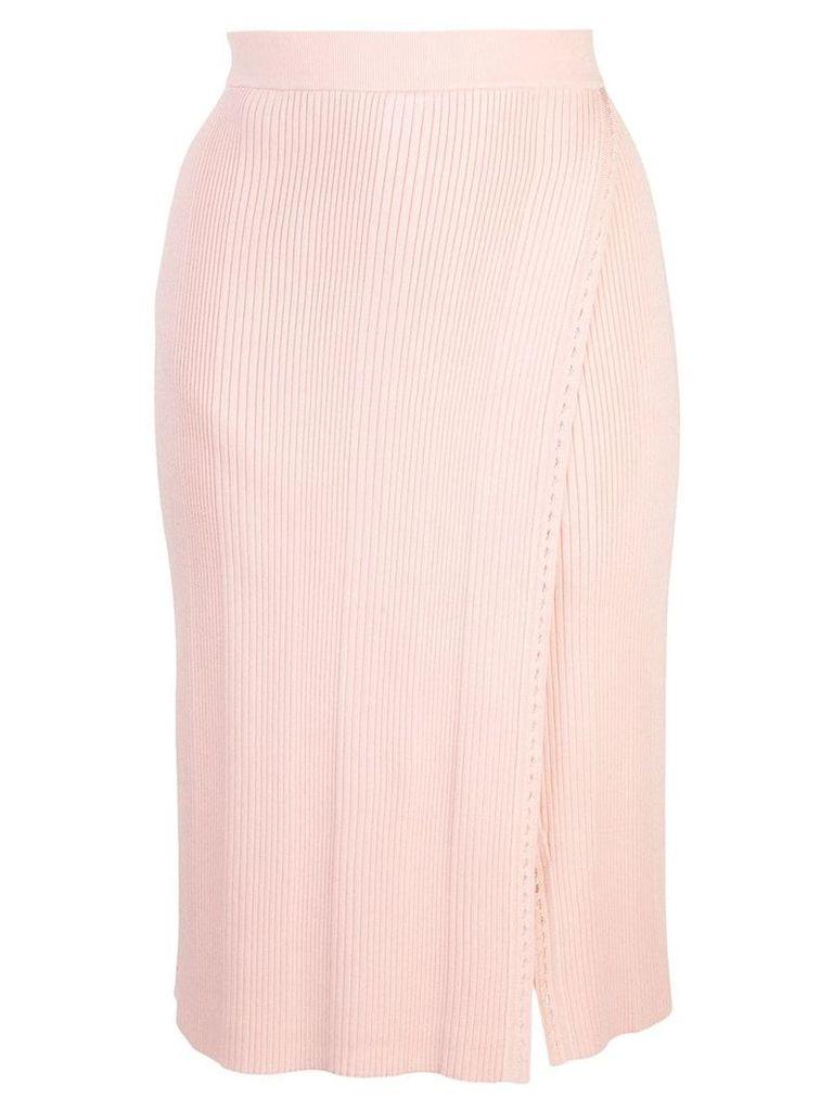 Jonathan Simkhai high-waisted skirt - Pink