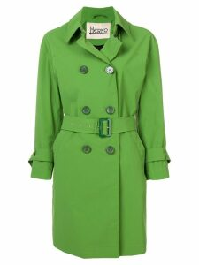 Herno belted trench coat - Green