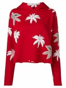 Philipp Plein Aloha hooded sweatshirt - Red