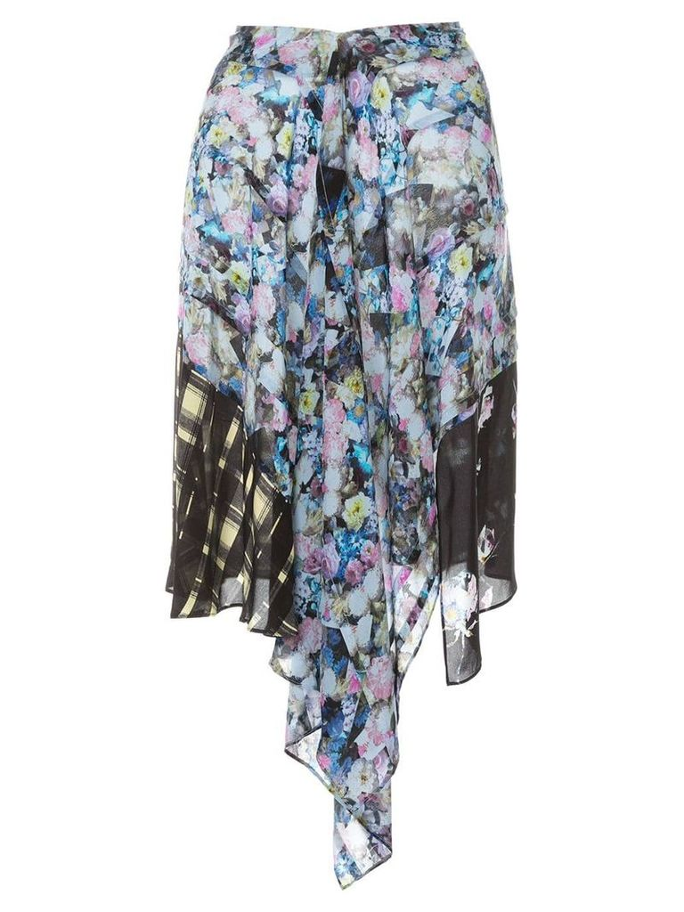 Preen Line Agatha draped skirt - Multicolour