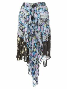 Preen Line Agatha draped skirt - Multicolour