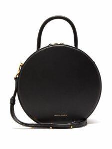 Mansur Gavriel - Circle Leather Cross Body Bag - Womens - Black