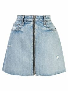 Rag & Bone /Jean distressed denim skirt - Blue