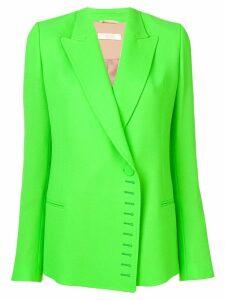 Ssheena buttonhole detail blazer - Green