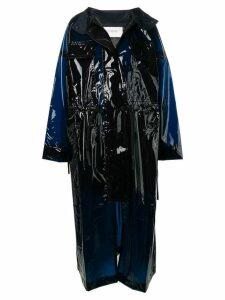 Sportmax oversized raincoat - Purple